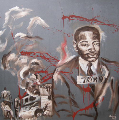 Land of the Free by Omari Booker $1500