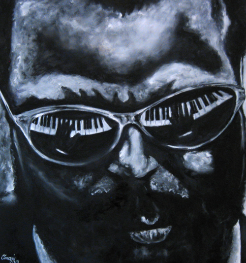 Thelonious by Omari Booker $1400