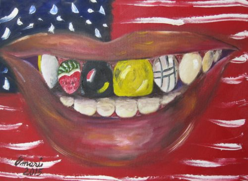 Be All You Can Be 24x18 $575 Oil on Canvas